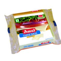 AMUL CHEESE SLICES 200 GM POUCH