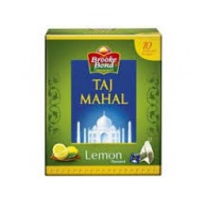 BROOKE BOND TAJ MAHAL TEA BAGS HONEY  LEMON GREEN 10 PCS