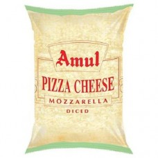 Amul Mozzarella Pizza Cheese (अमूल मोज़रेला चीज़) - 1kg