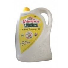 NATURE FRESH ACTI LITE REFINED SOYABEAN OIL 5 LTR