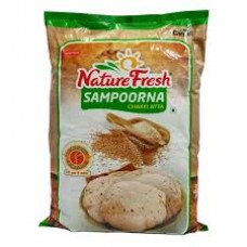 NATURE  FRESH  SAMPOORNA CHAKKI ATTA 10 KG